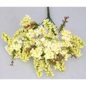 Büyük Cipso Ara Dal Çiçek Malzemesi 4 Renk-9