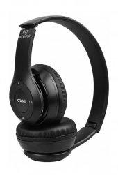 P47 Katlanabilir Bluetooth Kablosuz Kulaklık Siyah