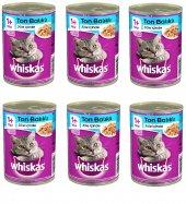 Whiskas Jöle İçinde Ton Balıklı Kedi Konservesi 400 Gr X 6 Adet