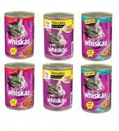 Whiskas Ton Balıklı,sığır Etli,tavuklu Karışık Kedi Konserve 400 Gr X 6