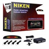 Niken Park Sensörü Ekranlı Ve Ses İkazlı...