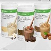 Herbalife Çikolatalı Fındıklı Vanilyalı 550 Gr Shake