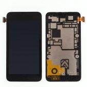 Nokia Lumia 530 Lcd Ekran Dokunmatik Çıtalı Full Ekran