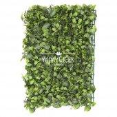 Yapay Yaprak Model Duvar Bitki Kaplaması 40x60 cm Yeşil