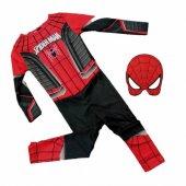 Spiderman Çocuk Kostümü Kırmızı , Siyah Örümcek...