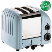 Dualit 27036 Classic 2 Hazneli Ekmek Kızartma Makinesi Buzul Mavi