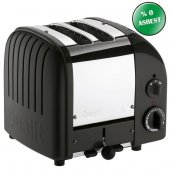 Dualit 27035 Classic 2 Hazneli Ekmek Kızartma Makinesi Siyah