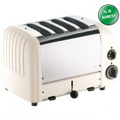 Dualit 47045 Classic 4 Hazneli Ekmek Kızartma Makinesi Kanvas