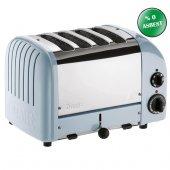 Dualit 47036 Classic 4 Hazneli Ekmek Kızartma Makinesi Buzul Mavi