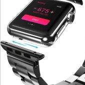 Apple Watch 2 3 4 5 Akıllı Saat 44 Mm Metal...
