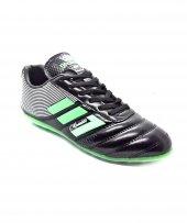 Sportaç C.ronaldo Siyah Yeşil Renk Erkek Halı Saha Ayakkabısı