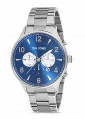 Tom Jones Tje9001 Çelik Kordon Erkek Kol Saati 2 Yıl Garantili