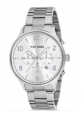 Tom Jones Tje9006 Çelik Kordon Erkek Kol Saati 2 Yıl Garantili