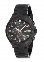 Tom Jones TJE9019 çelik kordon erkek kol saati 2 yıl garantili