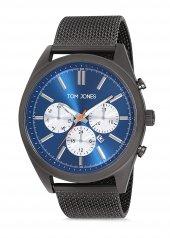 Tom Jones TJE9045 çelik kordon erkek kol saati 2 yıl garantili