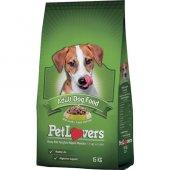 Pet Lovers Kuzu Etli Yetişkin Köpek Maması 15...