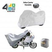 Zero X Street Arka Çanta Uyumlu Örtü Motosiklet Branda