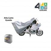 Zero X Street Arka Çanta Uyumlu Örtü Motosiklet Branda-3