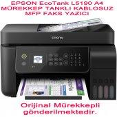 Epson Ecotank L5190 A4 Mürekkep Tanklı Kablosuz Mfp Faks Yazıcı