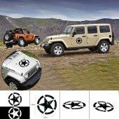 Jeep Araç Dekoratif Etiket (Stıcker)