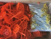 135 Mm Çelik Çivili Plastik Dübel