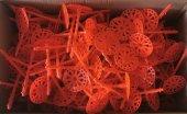155 Mm Geniş Başlıklı Çelik Çivili Plastik Dübel