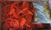 135 Mm Geniş Başlıklı Çelik Çivili Plastik Dübel
