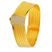 Pirnus Diamond-Altın Bilezik 14 Ayar 17,93 Gram -2