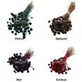 Kuru Çiçek Papatya Otu Demeti 4 Renk