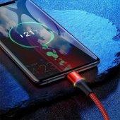 Baseus Samsung Galaxy S9 Plus Type-C Şarj Kablosu, 2 Metre Hızlı Şarj-6