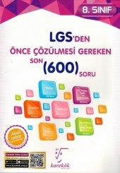 Karekök Yayınları 8. Sınıf LGS den Önce Çözülmesi Gereken Son 600