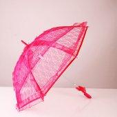 Dantelli Gelin Şemsiyesi