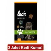 Leos Cat Litter Doğal Bentonit Kalın Taneli...