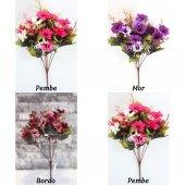 Papatya Demeti Ara Dallı Yapay Çiçek 3 Renk