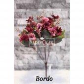 Papatya Demeti Ara Dallı Yapay Çiçek 3 Renk-2