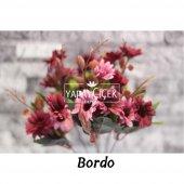 Papatya Demeti Ara Dallı Yapay Çiçek 3 Renk-5