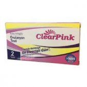 Clear Pink Ovulasyon Testi (2 Adet Test)