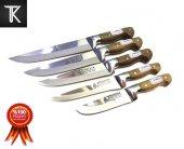 Sürmene Mutfak Bıçak Seti 5li Orjinal Bilezikli...