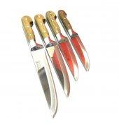 Lazoğlu Mutfak Bıçak Seti 4lü Orjinal Bilezikli Soğuk Mühür-3