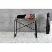 Çalışma Masası-Laptop Masası Ceviz 90x60 cm Ücretsiz Kargo-4