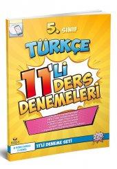 Koza Yayın 5. Sınıf Türkçe 11'li Deneme Seti