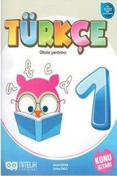 1. Sınıf Türkçe Okula Yardımcı Konu Kitabı Nitelik Yayınları