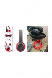 P47 Wıreless Bluetooth Kablosuz Radyolu Mp3 Çalar Kulaklık Renksan 01