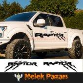 Ford Raptor Offroad Pençe İzi Sticker