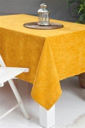 Evmisya Milas 160x160cm Masa Örtüsü Sarı