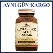 Solgar Alpha Lipoic Acid 200 Mg 50 Kapsül Skt...