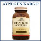 Solgar Cranberry With Vitamin C 60 Kapsül Skt...