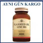 Solgar Flaxseed Oil 1250 Mg 100 Softgels Skt 05...