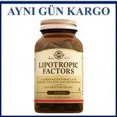 Solgar Lipotropic Factors 100 Tablet Skt 07 2021