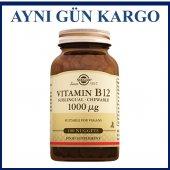 Solgar Vitamin B12 1000 Mg 100 Nuggets Dil Altı...